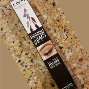 """NYX DUAL ENDED EYELINER """"MIDNIGHT CHAOS"""""""